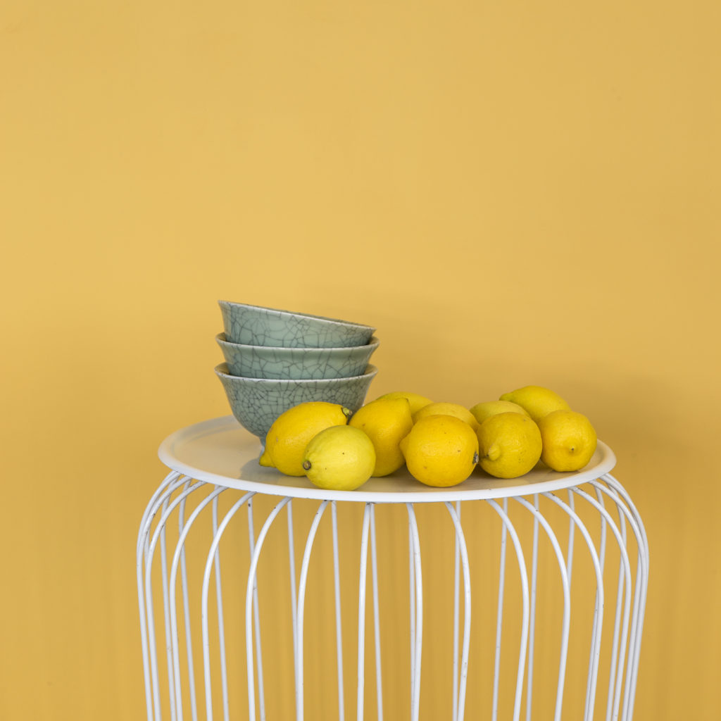 Amazona Krijtverf Citron detail citroenen