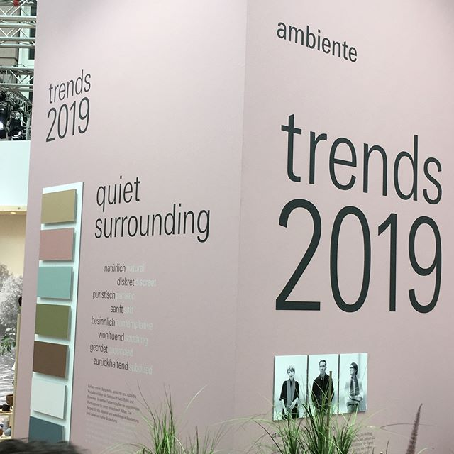 ON TOUR | TREND WALK OP DE AMBIENTE